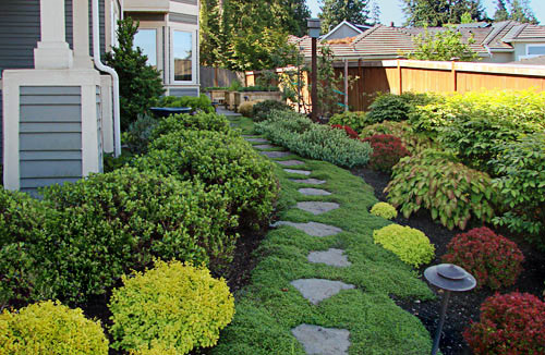 S&les of Landscape Designs \u0026 Garden Designs - Before \u0026 After Project Gallery - Seattle; King \u0026 Snohomish Counties \u2022 Verde Gardens : sample-of-garden-design - designwebi.com